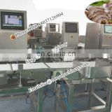 Poultry And Seafood Weight Grading System (10-3000g) 6 Grade Fish Sorting Machine (10g~1200g)