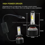 S2 three color dimming explosion flashed automobile LED headlamp refitted LED lamp fog lamp H4 H7 H11