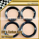 For Nissan Carbon Fiber Air Con Vents Cover