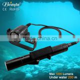 Newest Arrival Aluminum Underwater LED Canister Dive Torch Light                                                                         Quality Choice