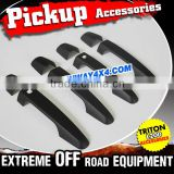Triton Accessories Matte Black Door Handle Cover For 2015 Mitsubishi Sportero Triton L200