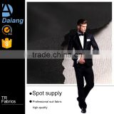factory wholesale 320G cheap high quality tr shirting mens suiting fabric for business suit in stock