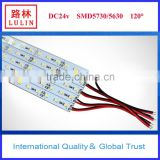 led rigid strip 5730 60leds/m with CE RoHS certification outdoor decoration/cabinet light/led rigid bar
