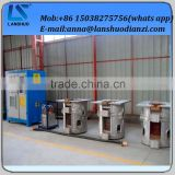 China Supplier Medium Frequency Electric Iron Smelting Furnace