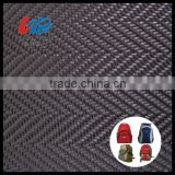 Oxford Dobby Design Fabric Manufacturer With PU/PVC Coating For Travel Bag Material                                                                                         Most Popular