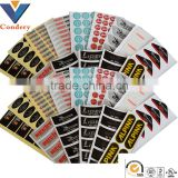 3D crystal stickers labels sticker car sticker design anti radar sticker