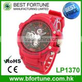 LP1370 Hot sale children stainless steel case back fancy digital watches