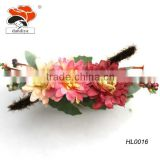 latest model fashion handmade three color daisy flowers Bracelet china factory wholesale