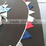 Nice colorful cotton party accesories bunting flags