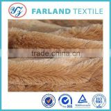 long pile faux fur fabric knitted upholstery mattress thicking fabric                                                                         Quality Choice