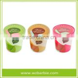 Disposable Ice Cream Paper Cup/ Bowl, ice cream container With Lids For Ice Cream Or Frozen Yogurt