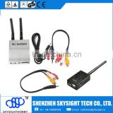 D58-2 5.8Ghz 32CH FPV Diversity Receiver with SKY-52W FPV 5.8G 2W A/V Transmitter not compatible with fatshark goggles fpv