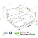 anti-bacterial bath tub safety chair/ new arrival disabled shower seat