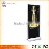 "Kiosk advertising led display player screen floor standing big 55"" indoor advertising screen"