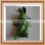 foldable rabbit/bunny shopping polyester bag