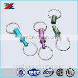 Coloured Keymate Key Ring Release /Quick Release Key Holder w/Split Ring