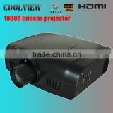 edge blending built in 3LCD Full HD HDMI DVI support wuxga 1920x1200 led lcd projector 10000 lumens