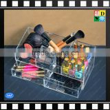 High quality Clear acrylic jewelry cosmetic makeup storage organizer display boxes with drawers From China