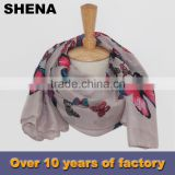 shena fashion 100 silk satin square scarf for airline stewardess