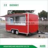 outdoor fiberglass orange kiosk/food kiosk/juice kiosk
