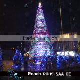 motif light giant christmas tree,size color can be customized led light,hot sell waterproof outdoor decoration