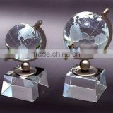 Carved crystal balls, crystal sphere, crystal globe