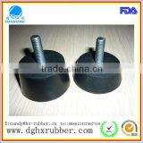 heat resistant anti-skidding /rubber feet/rubber pad for running machine Speaker microphone sets