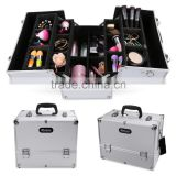 Homdox Home Cosmetic Organizer Case Jewelry Box Lockable Makeup Box OS004506