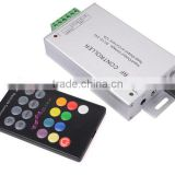 Hot Selling Products! 18 key RF Music RGB Led Controller, Wireless RGB Audio Controller,CE/RoHS,Warranty