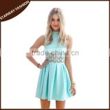 New designs elegant summer sexy sleeveless dress for women/                                                                         Quality Choice