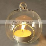 hot sale high quality hanging glass ball candle holder                                                                                                         Supplier's Choice