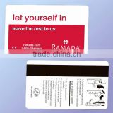 Promotion! CR80 PVC Card Magnetic Stripe Plastic Membership Card