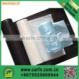 custom printed plastic garbage bag on roll