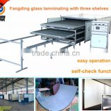 EVA glass laminated machine with autoclave free