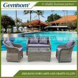 China factory patio weatherproof wicker furniture