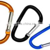 TC-453 2013New Hot Sale Mini Aluminum D Shape Camping Carabiner For Promotion