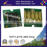 (ARC-E-T2771R) auto reset inkjet ink cartridge chip For Epson EP-905F EP-75AW EP-905 EP-75 EP905F EP75AW