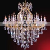 Wedding Hall Decoration Lights Chandelier Crystal Pendants Hand Blown Glass Chandelier 81148