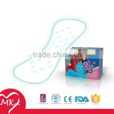 Airlaid paper laid sanitary napkin with negative ion adult female sanitary napkin with negative ion