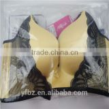 Printed garments packing plastic bag for bra with slider zipper top/ziplock/zip lock