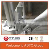 United States Layher Type Ringlock System Scaffolding Q345 Base Collar YP-BC for Architecture Use