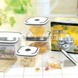 10 pcs airtight and waterproof food container set