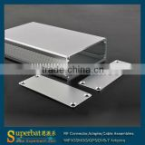 "Aluminum Box Enclosure Case -4.33""*2.52""*0.94""(L*W*H) steel boxes powder coated"
