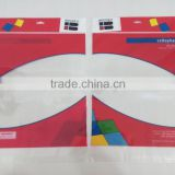 Clear Plastic Flat Poly Bag For Packaging With Self Adhesive Tape & Hanging Header Card