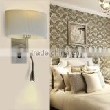 Headboard oval fabric wall bracket light fitting,Oval fabric wall bracket light fitting,Wall bracket light fitting WL1069