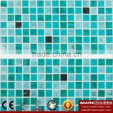 IMARK Cheap Gold Star Glass Mosaic Tile Mix Quartz Glass Mosaic Tile Kitchen Tile Bathroom Tile Wall Art Mosaic Tile Cheap Tile