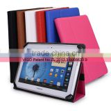Universal Book Style Cover Case with Built-in Stand [Accord Series] for Toshiba Excite X10 Inch Android Tablet