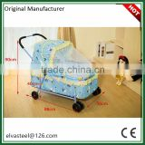 China manufacturer NEW design kids iron swing folding portable baby cradle bed with the best after-sale