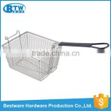 Food Class OEM & ODM Accepted Iron Wire Electroplated French Fries Mcdonald's Fry Basket