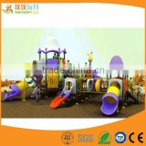 Spain kids outdoor play set slide public playground equipment for sale